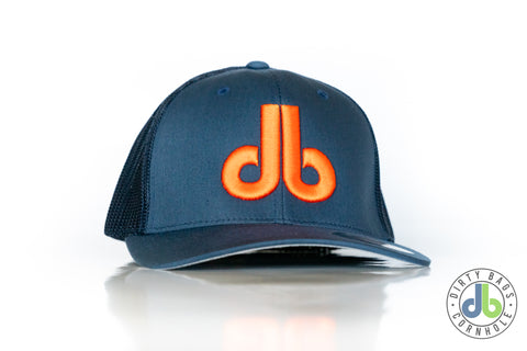 db Hat - Blue and Orange
