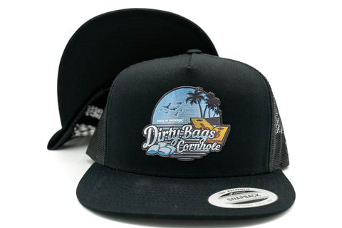 db Hat - Bags In Paradise Flat Bill Trucker