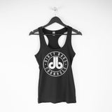 Women's RacerBack Tank Top - White DB