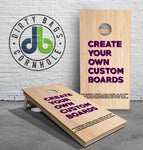 Create your own American Cornhole League approved Cornhole Boards