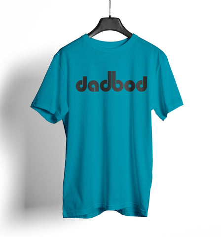 "Dirty Bags Cornhole ""dadbod"" - Turquoise and Black"