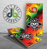 Cornhole Boards - db Blowin Trees Edtion