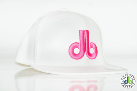db Hat – White and Pink