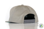 db hat - gray with two tone db