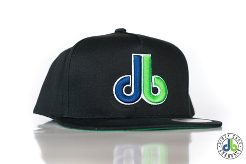 db hat - black with two tone db