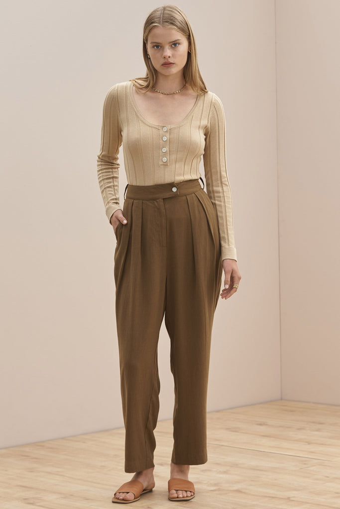 Sancia - Ynez Pants - Antique Olive