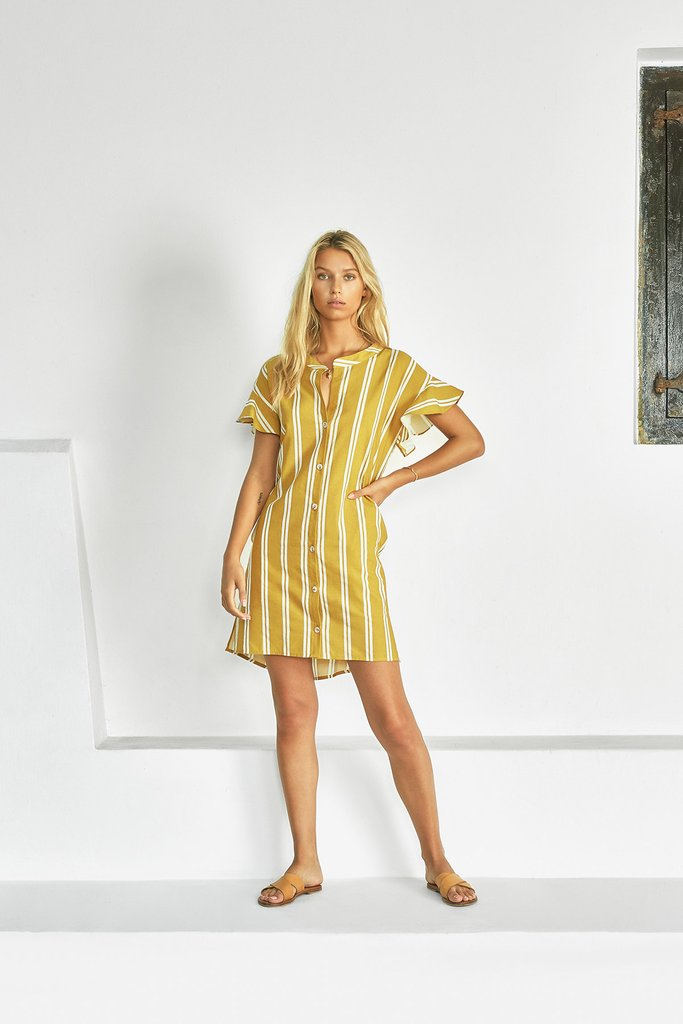 Sancia - Francisca Shirt Dress - Zippora Stripe