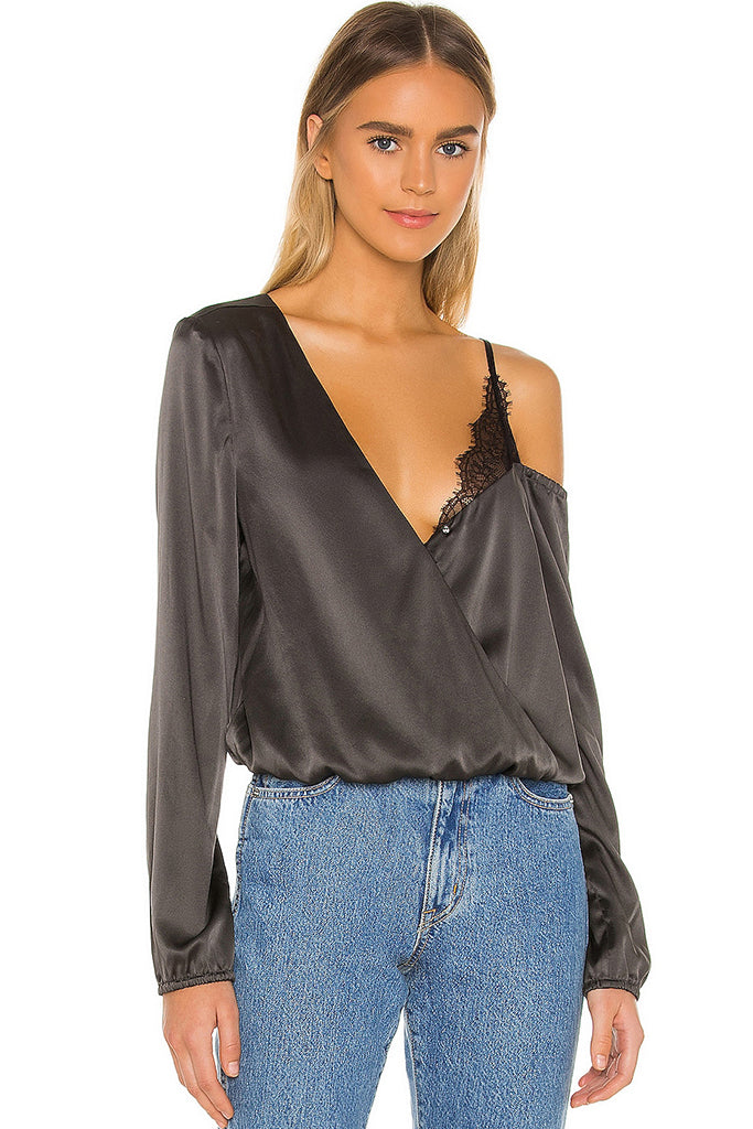 Cami NYC - Juno Blouse - Iron