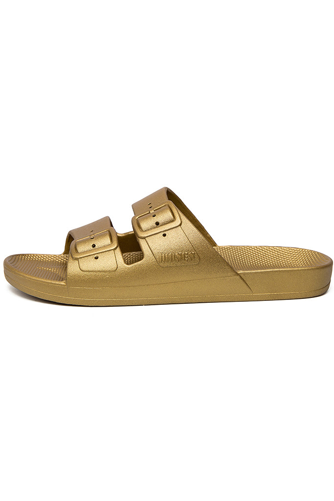 Freedom Moses Slides - Goldie