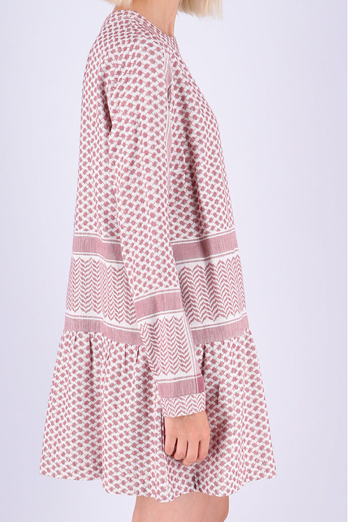 Rough Studios - Lana Dress - Pink/White