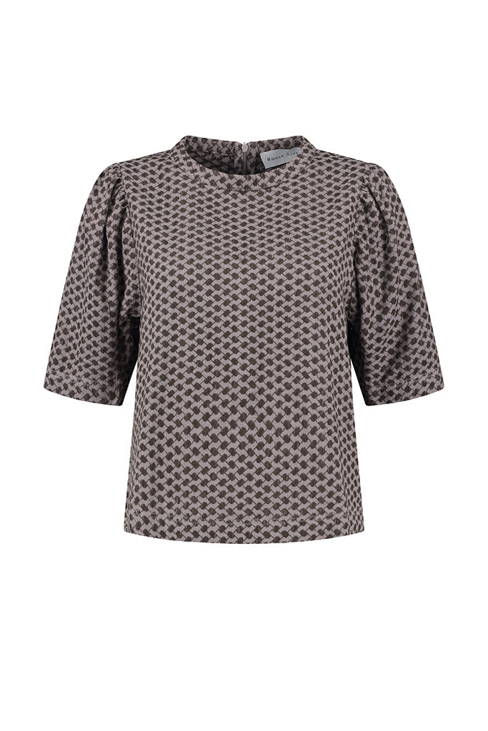 Rough Studios - Simone Shirt - Brown/Lilac