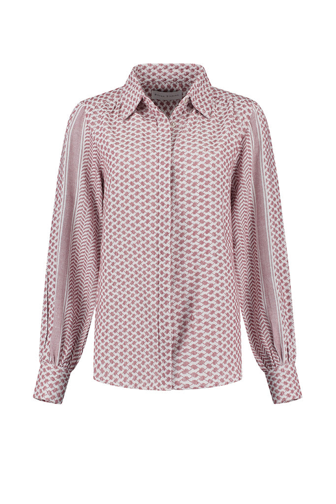 Rough Studios - Bibi Blouse - Pink/White
