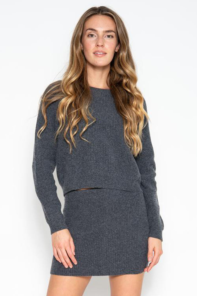 One Grey Day - Silas Cropped Pullover