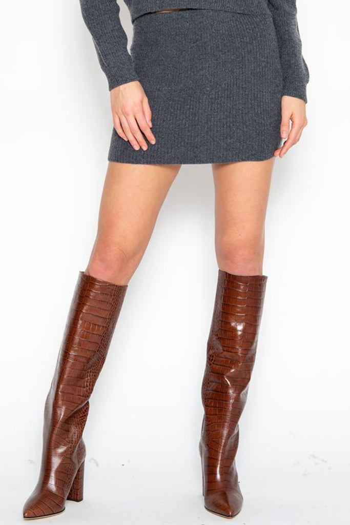 One Grey Day - Silas Mini Skirt