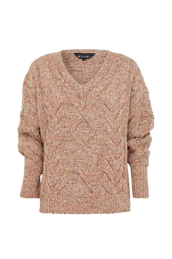 Kivari - Bella Cable Knit Jumper