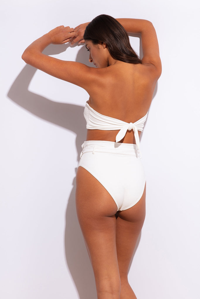 Revel Rey Swim - Winona Bottom - Cream Crepe