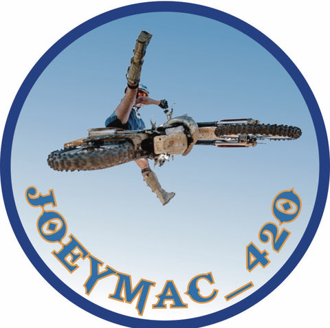 Joey Mac Sticker