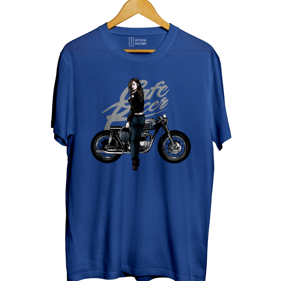 Cafe Racer - Round Neck