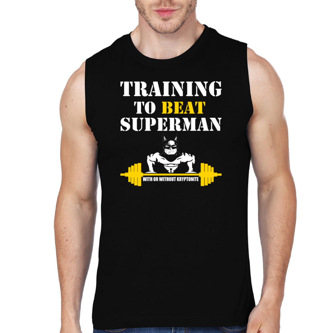 Training To Beat Superman - Gym Vest
