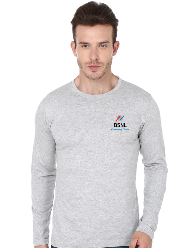 BSNL Full Sleeve T-shirt