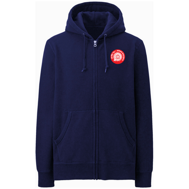 Indian Railway Zipper Hoodie