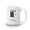 All you need is love and a good attorney mug