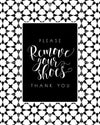 Please Remove Your Shoes - Art Print
