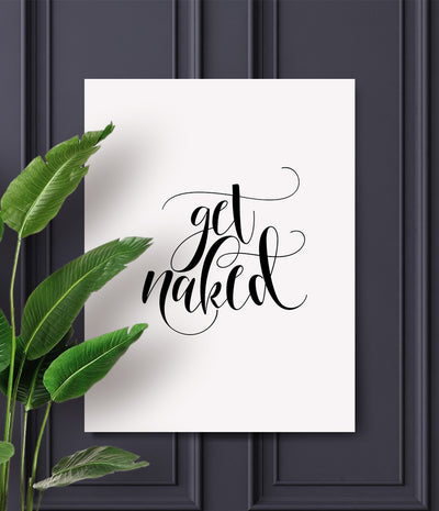 Get naked print