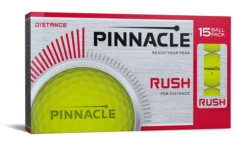 Pinnacle Rush 15-Ball Pack - HowardsGolf