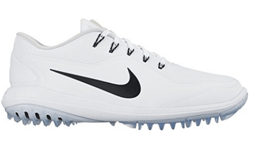 NIKE Lunar Control Vapor 2 Golf Shoes - White/Black-Pure/Platinum-Volt