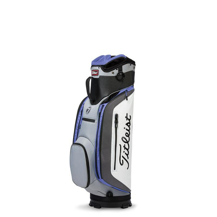 Titleist Club 7 Cart Bag Soapstone/Charcoal/Periwinkle - HowardsGolf