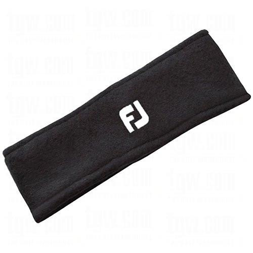 NEW FootJoy Golf FJ Fleece Head/Ear Band Winter Black
