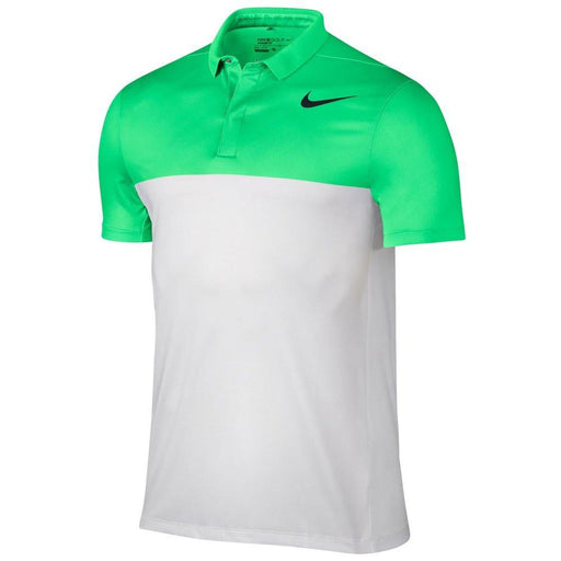 Nike Zonal Cooling MM Fly Block Golf Polo - HowardsGolf