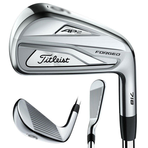 Titleist 718 AP2 Forged Iron Set Right 4-PW, True Temper AMT Tour White Steel S300