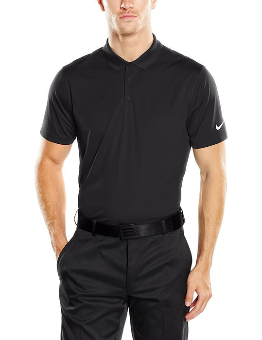 Nike Men's Victory Solid Polo - XXXX-Large - Black