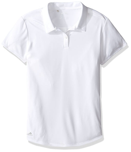 adidas Golf Girls Performance Solid Polo Shirt - HowardsGolf