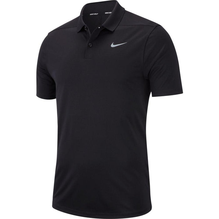 Nike Dri FIT Polo Victory Solid 891857 Black/Cool Grey 010 - HowardsGolf