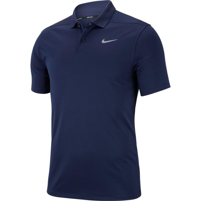 Nike Dri FIT Polo Victory Solid 891857 College Navy/Black 419 - HowardsGolf