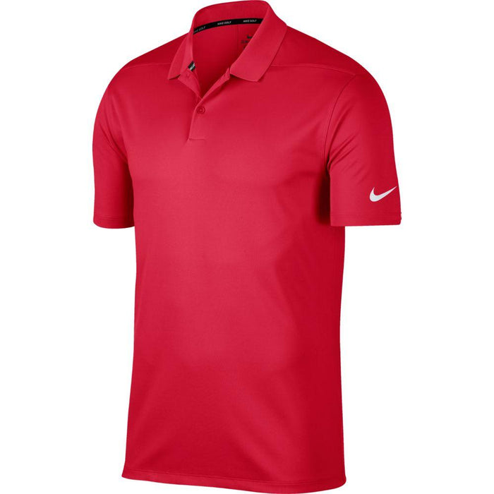 Nike Dri FIT Polo Victory Solid 891881 Team Crimson/Black 613