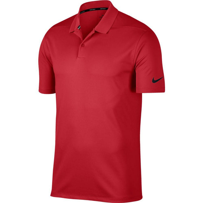Nike Dri FIT Polo Victory Solid 891881 University Red/Black 657 - HowardsGolf