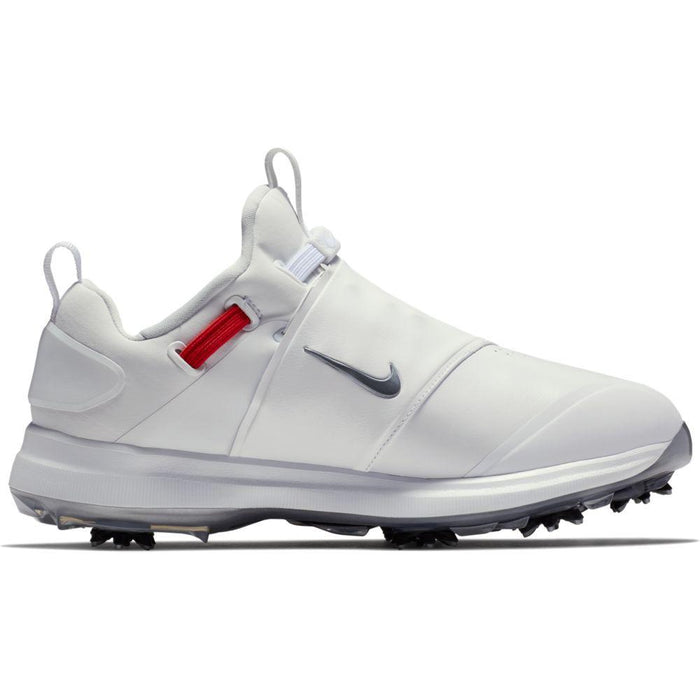 Nike Tour Premiere White/Grey Golf Shoes - HowardsGolf