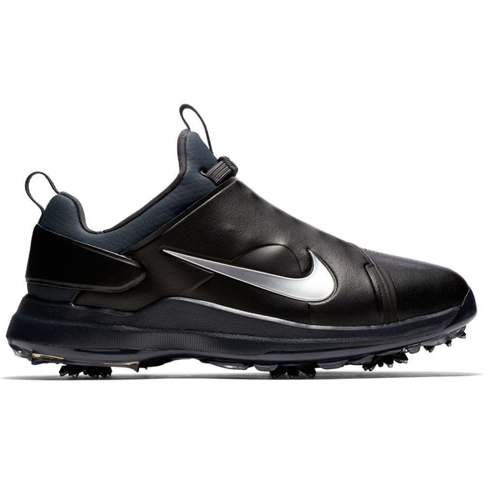 Nike Tour Premiere (Wide) Black/Silver Golf Shoes - HowardsGolf