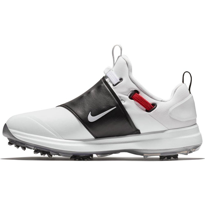 Nike Tour Premiere (Wide) White/Silver Golf Shoes - HowardsGolf