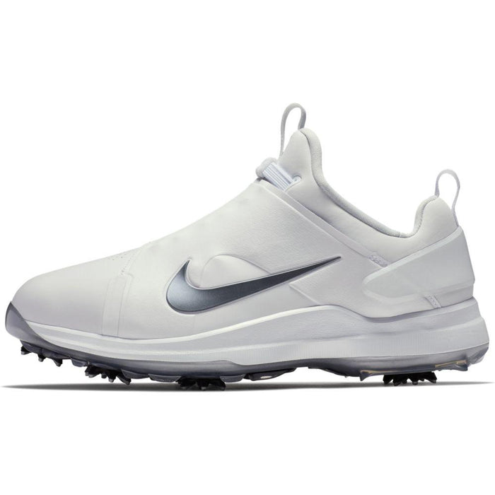 Nike Tour Premiere (Wide) White/Black Golf Shoes - HowardsGolf