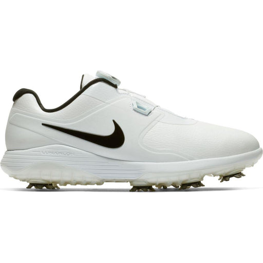 Nike Vapor Pro BOA White/Black Golf Shoes - HowardsGolf