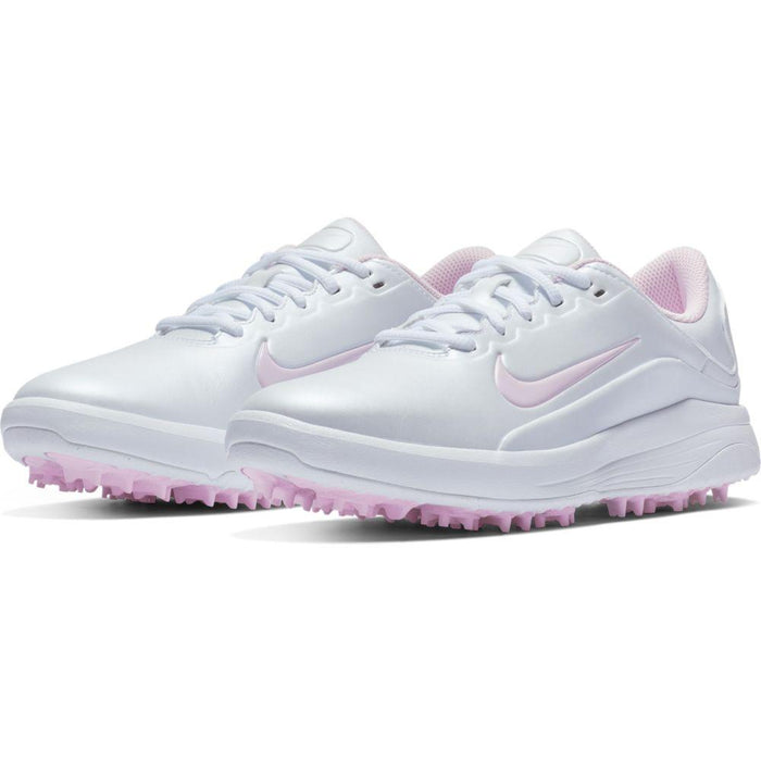 Nike Womens Vapor (W) White/Pink Golf Shoes - HowardsGolf