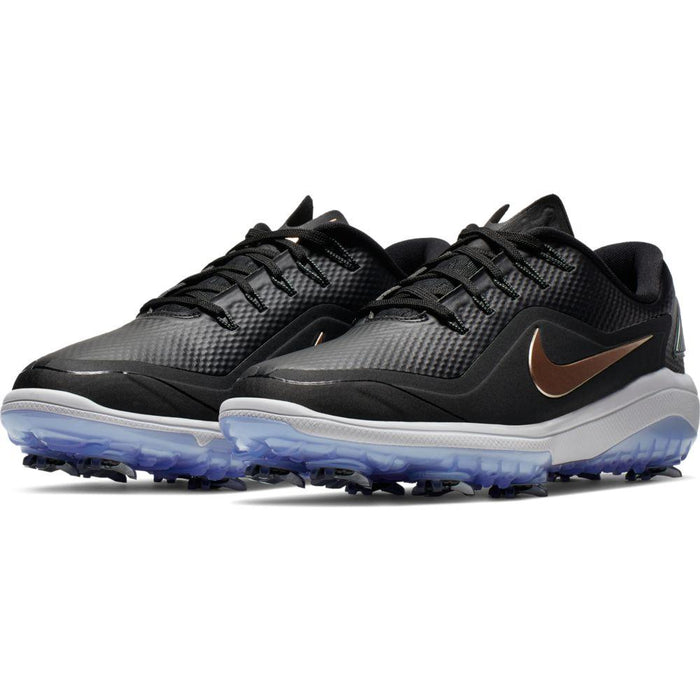 Nike Womens Nike React Vapor 2 Black/Bronze Golf Shoes - HowardsGolf
