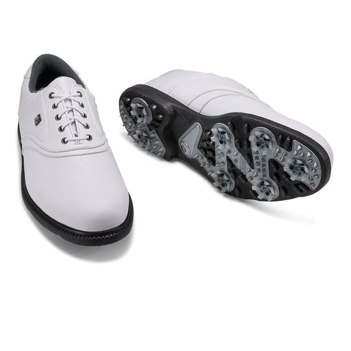 FootJoy Originals All White Golf Shoes - HowardsGolf