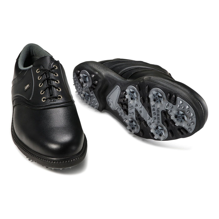 FootJoy Originals All Black Golf Shoes - HowardsGolf