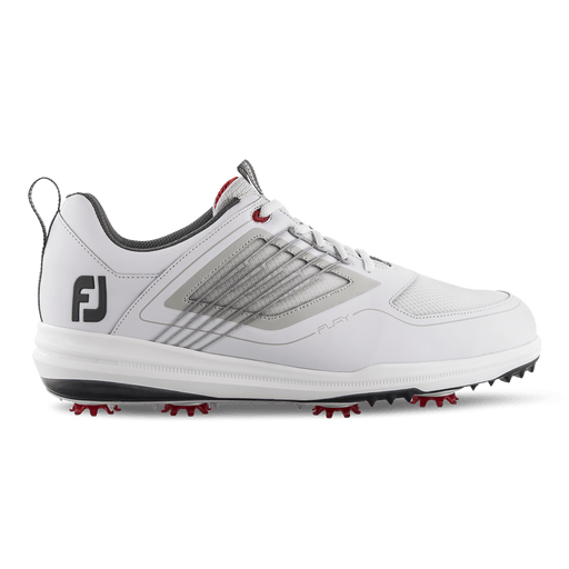 FootJoy Fury White/Red Golf Shoes - HowardsGolf